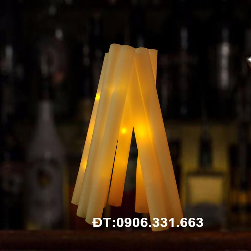 gậy cổ vũ phát sáng led màu vàng