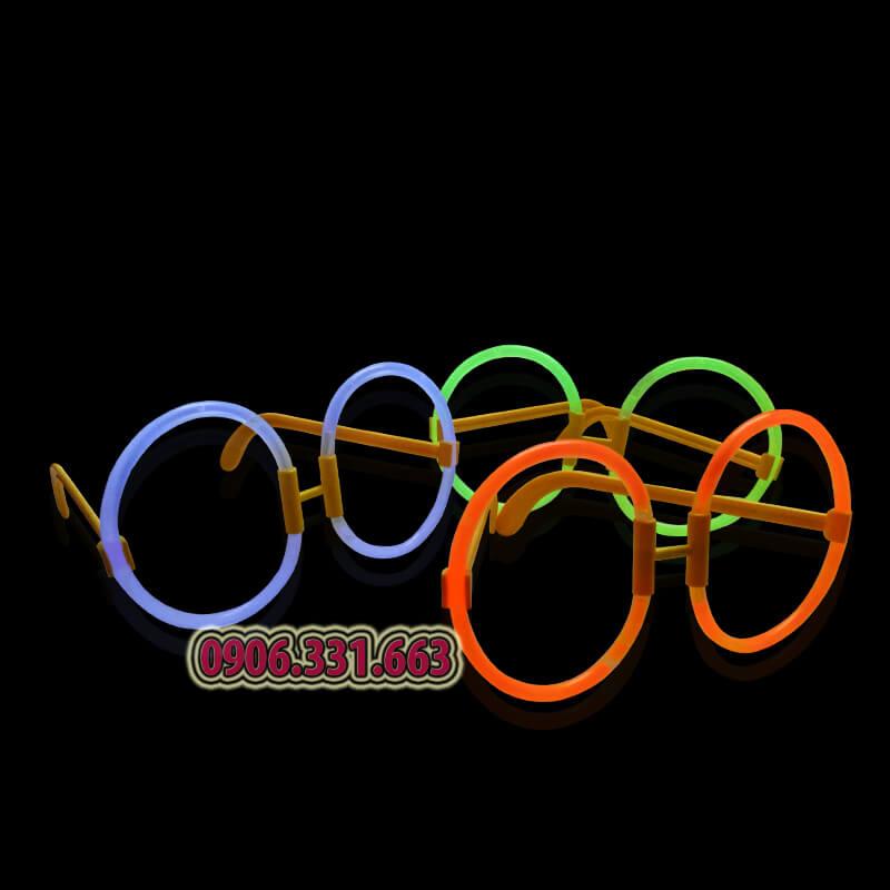 kính dạ quang dạng tròn