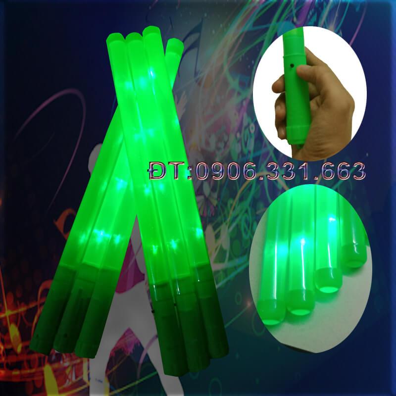 Lightstick led xanh lá 46cm