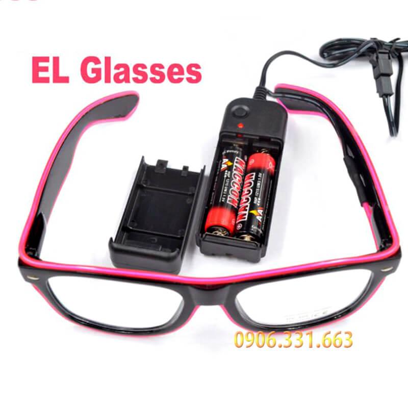 mắt kính đèn led phát sáng EL Glasses