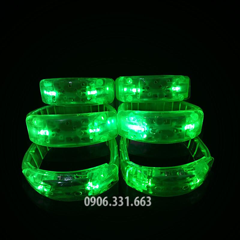 vòng led đeo tay phát sáng xanh lá